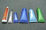Enchimento da câmara de ar do limpador e máquina faciais de creme cosméticos automáticos da selagem
