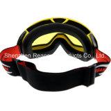 Reanson professionelle Anti-Fog doppelte kugelförmige Objektivesnowboard-Schutzbrillen