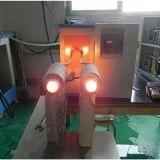 Máquina de calefacción de inducción de Rod de metal para la forja caliente 45kw
