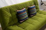Base di sofà volta del tessuto due moderni