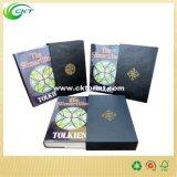 De buena calidad libro de tapa dura con cuero (CKT-BK-320)