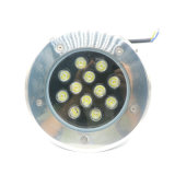 12W Blanco fresco RGB LED de luz de color de metro / LED enterrada luz al aire libre