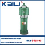 QD&Q mehrstufige elektrische versenkbare Wasser-Pumpen (mit 3 Antreibern)