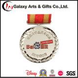 Pin rond matériel d'étiquette de Deboss en métal de cadeau de souvenir/Badage