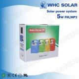 Système de kit d'énergie solaire portable photovoltaïque 3W