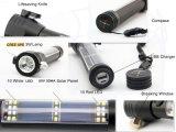 Multifunktionsfackel-Emergency im Freien Sonnenenergie-Lifesaving Taschenlampe (SYSG-517)