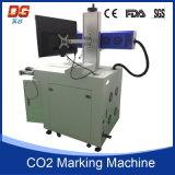 Máquina de alta velocidad de la marca del laser del CO2 60W