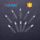 Diodo redondo caliente de la venta 3m m LED con el diodo largo 5m m de las piernas 1.5V 3m m LED