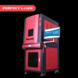 3 máquina ULTRAVIOLETA de la marca del laser del metal del plástico óptico del vatio 355nm del vatio 5
