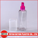 quadratische Plastikflasche des haustier-250ml mit Sprüher-Pumpe (ZY01-C024)