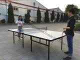 Venda por atacado ajustada da tabela ao ar livre do tênis de tabela
