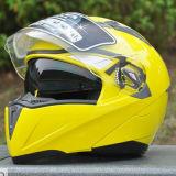 2017 viseiras duplas aprovadas PONTO lanç acima da importação do capacete de Motorcylce