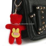Regali accessori di promozione della catena chiave dell'anello portachiavi del sacchetto dell'orso della peluche