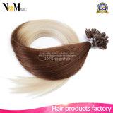 Человеческие волосы сплавливания первоначально волос кератина конца Neitsi u кератина волос итальянских горячие