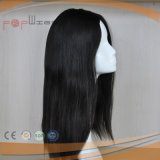 Cutícula larga de la Virgen del diseño de calidad superior de la manera intacto en la peluca superior de seda del pelo
