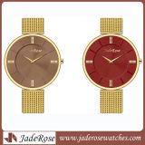 신식 다채로운 숙녀 스테인리스 석영 디지털 시계