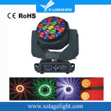 DJ Disco Effect Rotation Zoom 19X15W LED Bee Eyes Moving Head Light Éclairage de scène