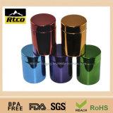 Chromed/металлизированная бутылка пластмассы HDPE