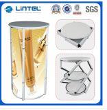 Contador de aluminio giratorio de la promoción de la visualización de la torre (LT-07A)