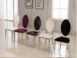 Мебель изготовления нержавеющей стали стула столовой Luxucy оптовика