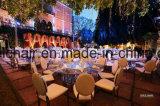 상류 로즈 금 금속 스테인리스 결혼식 의자