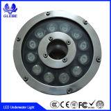 DMX 512 수족관 LED 수중 빛 LED 샘 반지 빛