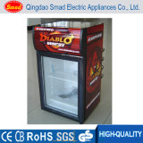 Réfrigérateur de petite taille d'étalage de boissons d'énergie de réfrigérateur de bière faite sur commande mini