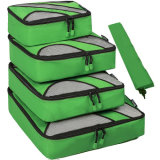Verrijk de Organisatoren die van de Reis Kubussen voor de Zakken van de Compressie van de Bagage van de Zak van de Wasserij van de Reis inpakken