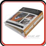 A4サイズ4cの印刷の堅いボール紙のリングバインダのファイルホルダー