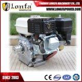 Precio del motor de gasolina de Taizhou 5.5HP con el eje Amoda de la cuerda de rosca
