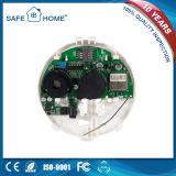 G-/Mselbstvorwahlknopf-Rauchmelder mit nachladbarer Batterie (SFL-908)