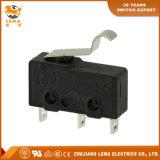 Commutateur micro miniature noir de Lema Kw12-56 5A