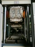 Estación Dos vertical Dos Soles tornillo máquina de inyección