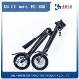 快適なシートが付いている2つの車輪と電気スクーター