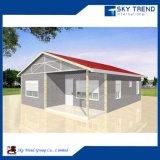 Assembléia Rápida e Fácil Pronto Prefab Econômico Casa De Villa De Aço Com Quarto Cozinha De Banheiro