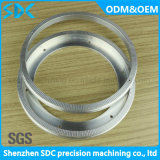 O torno parte o CNC do certificado de /SGS que faz à máquina CNC personalizado /Precision que gira as peças
