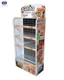 Mensola di visualizzazione del banco di mostra del nastro metallico del supermercato/delle cremagliere visualizzazione degli spuntini/patatina fritta
