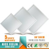 120lm/W 600*600mm 높은 광도 30W LED Panellight
