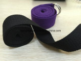 cinghia di cotone nera di 50mm