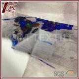 Silk transparentes Organza-Gewebe des Blumen-Druck-100%
