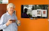 Effacement sec d'éducation sauvant des téléconférences en verre magnétiques d'écriture