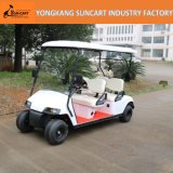 電池式48Vおよび3-4シートの公園の使用のための電気ゴルフ車