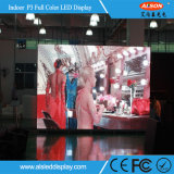 Pequena Pixel Pitch P3 LED TV Display Panel