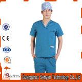 Abito chirurgico del cotone ed uniforme medica riutilizzabile
