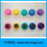 Vijf-kleur de Transparante Duidelijke Decoratieve Magnetische Magneet van de Speld