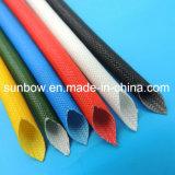 UL-anerkanntes elektrischer Draht-isolierendes Silikon-Fiberglas Sleeving