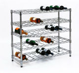 Prático Restaurante Flat Wine Bottle Stand Rack (WR903590A5C)