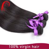 Reto de seda das extensões do cabelo humano do Malaysian 100% da classe da qualidade superior 8A