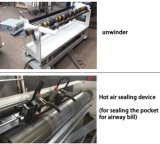Hochgeschwindigkeits-DHL-Plastikeilbote-Beutel, der Maschine herstellt