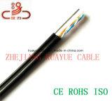 Fio de gota 2 cabo enchido telefone do computador do cabo do cabo UTP de uma comunicação pares do cabo do mensageiro/rede de cabo